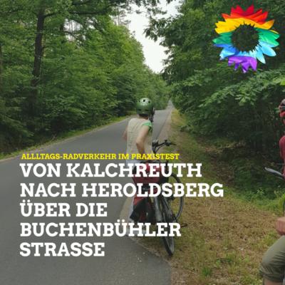 Alltagsradverkehr nach Buchenbühl