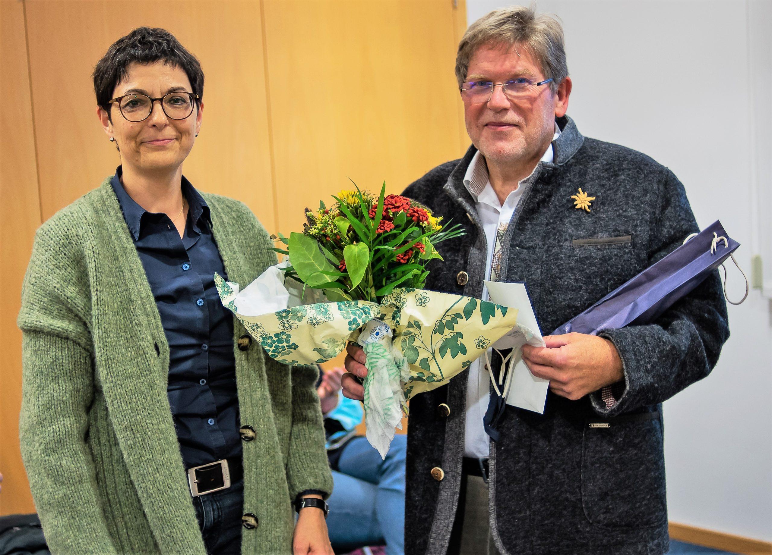 Verabschiedung von Bernhard Kollischan aus dem Kalchreuther Gemeinderat